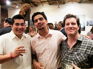 Iron Chef Jose Garces, Aaron Sanchez y Seamus Mullen