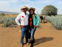 Jose Cuervo y Doreen Colondres - Agave Azul